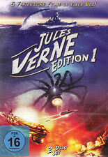 DOPPEL-DVD NEU/OVP - Jules Verne Edition 1 - Die mysteriöse Insel u.a. - 6 Filme