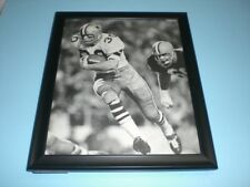 1966 COWBOYS DAN REEVES vs BROWNS FRAMED ACTION PRINT