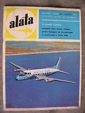 ALATA # 207 - RIVISTA AERONAUTICA - SETTEMBRE 1962 - BUONO