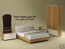 LIVE YOUR DREAMS Vinyl Wall Art Decal Sticker Home 36""
