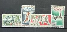 CHAD #C15-C18.  18th OLYMPIC GAMES. MNH