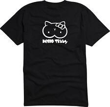 T- Shirt Damen oder Herren S-XXL - DE-2051 - Hello Titty