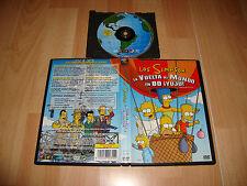 LOS SIMPSON LA VUELTA AL MUNDO EN 80 ¡YUJU! DVD USADA