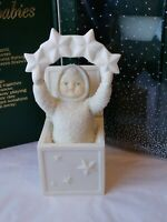 Dept 56 Snowbabies Winter Tales A Star In The Box Porcelain Figurine Winter