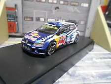 VW Volkswagen Polo WRC Rally WM 2015 monte Ogier #1 sp red bull Spark 1:43