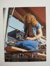Robert Plant Led Zeppelin Single Coffee Table Book Photo Page 8x11 #1