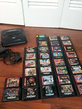 Huge Lot of sega genesis 32 games  and console