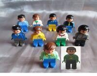 Lego Duplo Figur  verschiedene Varianten Mann Frau Papa Mama Familie Figuren