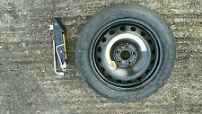 """FIAT TIPO 2015-2017 SPACE SAVER 15"""" SPARE WHEEL & TYRE JACK AND SPANNER KIT"""