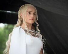Emilia Clarke 8x10  Photo #78 Game of Thrones