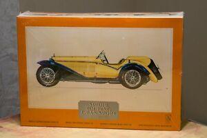 Pocher Alfa Romeo 1932 Spider Touring Gran Sport 1/8 Scale Model Kit SEALED
