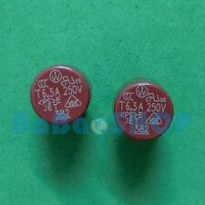 5pcs T6.3A 250V 6.3A TR5 Miniature Slow Blow Micro Sub Min Fuse Brand New