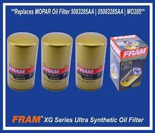 Set (3) Replaces MOPAR DODGE RAM 2500 3500 5.9L 6.7L DIESEL Oil Filter 5083285AA