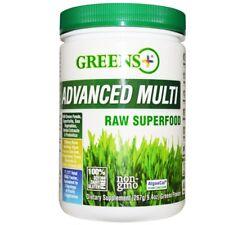 Greens Plus, Advanced Multi Raw Superfood, 9.4 oz (276 g) Greens Powder