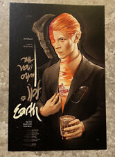 The Man Who Fell to Earth Mondo SDCC Postcard Art Print Martin Ansin David Bowie