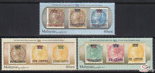 [SS] Malaysia 2017 150 Years Straits Settlements Stamps Provisional STAMP SET
