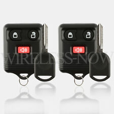 2 Car Fob Keyless Entry For 2004 2005 2006 2007 2008 2009 2010 Ford F-150 + Key