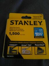 Stanley Heavy Duty Staples 1500 In Box New