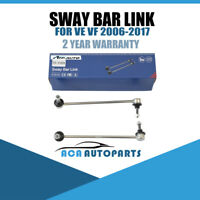 Fit Holden VE VF 2006 - 2016 Commodore Front Stabilizer / Sway Bar Link Pin Kit