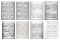 Soap Molds or Chocolate Mold Choose from 8 Shapes Reusable Clear Sturdy Plastic