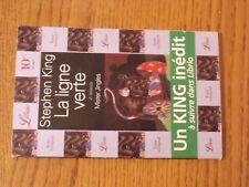 $$$ Livre La ligne verte2e episode Mister JinglesStephen KingLibrio