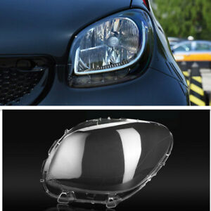 Left Side Headlight Lens Headlights Lampshades Cover For Smart Fortwo 2016-2020