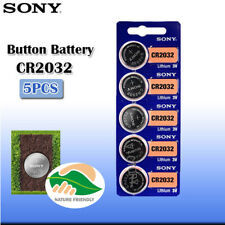 5 pcs SONY Original CR2032 Button Cell Batteries 3V Coin  watch battery