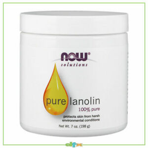 Now Foods Pure Lanolin - 207ml (7oz), Chapped Skin Protection