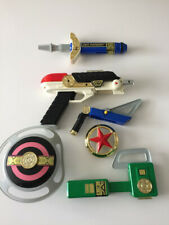 Power Rangers Zeo 7 in 1 Blaster Weapons Bundle Bandai Toys