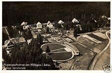 7954/ Foto AK, Flugaufnahme Villingen, Kneipp-Sanatorium, 1937