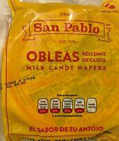 San Pablo Obleas Rellenas De Cajeta, 8.8oz -