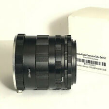 Fotodiox Macro Extension Tube Set for Canon EOS, New In Box
