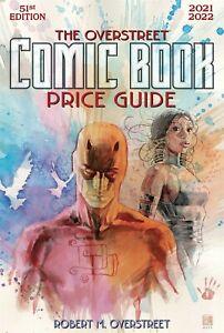 OVERSTREET 2021 2022 COMIC BOOK PRICE GUIDE 51 SOFTCOVER Daredevil Echo Cover SC