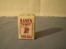 Vintage Case's Tangy Pork Roll The Ranch House Atlantic City NJ Sugar Cube