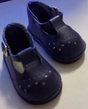 NIP- Navy Color Baby Mary Janes fit Bitty Baby doll and Similar Sized Dolls