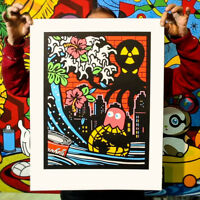 SPEEDY GRAPHITO - REVENGE - Sérigraphie signée art urbain