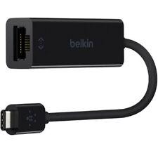 BELKIN USB 3.1 Type C TO RJ45 GIGABIT ETHERNET ADAPTER PC Mac F2CU040BTBLK