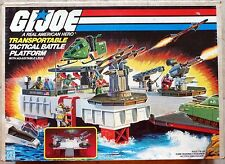 GI Joe Transportable Tactical Battle Platform New Box MINT Condition MIB 1985