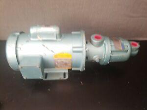 Moyno 1/2hp 1 phase 115/230v progressive cavity pump moyno 33359 NOS