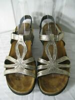 Naot  Rachel Leather Gladiator Wedge Sandals  Shoes Women's Size 40 / 9.