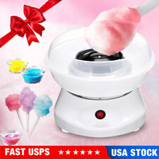 Mini Electric Cotton Candy Machine White Floss Carnival Commercial Maker Party