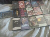 LOT16 CASSETTE TAPES CLASSIC ROCK HARD ROCK & Glam METAL ACDC pioson Motley Crue
