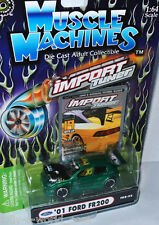 Import Tuner - 2001 FORD FR200 - green/graphics - 1:64