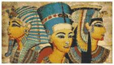 Kings Of Egypt 14 Count Cross Stitch Kit