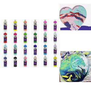 Pouring Paint 240ml Mont Marte Pouring Acrylic Paint Fluid Artworks