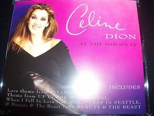 Celine Dion At The Movies CD EP Single – Like New