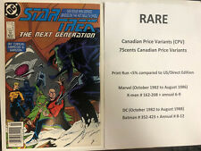 Star Trek Next Generation (1988) # 2 (хорошее состояние) канадская цена вариант (КНД)