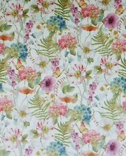 Rainbow Seeds~Butterflies and Flowers Cotton Fabric by Wilmington Prints