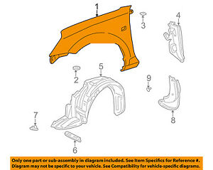 TOYOTA OEM 00-05 MR2 Spyder-Front Fender Quarter Panel Right 5380117120