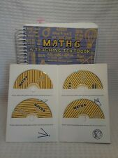 Math 6 : A Teaching Textbook Student book & CD-Rom set Greg and Shawn Sabouri